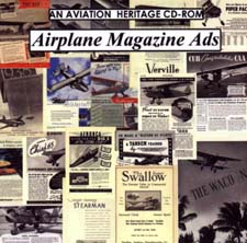 Airplane Magazine Ads of the Golden Age CD-ROM