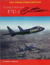 Chance Vought F7U-1 Cutlass, Naval Fighters # 94