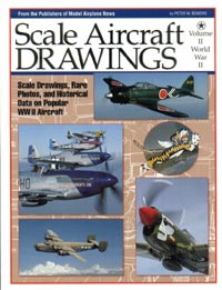 Scale Aircraft Drawings - WWII - Vol II