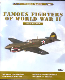 Famous Planes: Famous Fighters of World War II,  Vol. 1